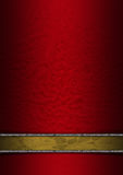 Luxury Floral Red Gold Silver Background Royalty Free Stock Photography