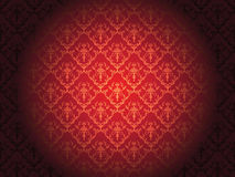 Luxury floral wallpaper Royalty Free Stock Images