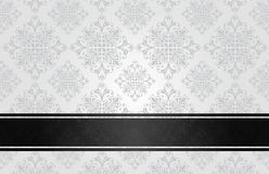 Luxury floral white Royalty Free Stock Images