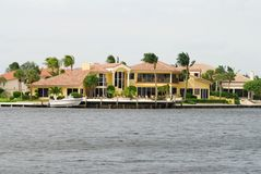 Luxury Florida residence Stock Photos