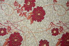 Luxury flower fabric Royalty Free Stock Photography