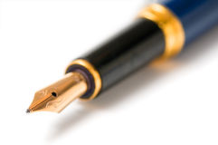 Luxury fountain pen Royalty Free Stock Photos