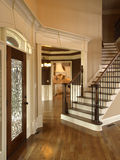 Luxury Foyer with Glass door 3 Royalty Free Stock Photography