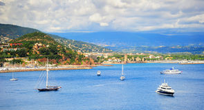 Luxury French  Riviera Royalty Free Stock Photos