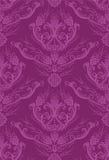 Luxury fuchsia floral wallpaper royalty free illustration