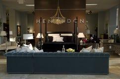 Luxury furniture store Stock Photo