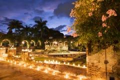 Luxury garden Stock Photo