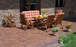 Luxury Garden furniture Royalty Free Stock Image
