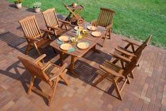 Luxury Garden furniture Stock Images