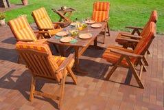 Luxury Garden furniture Stock Photography