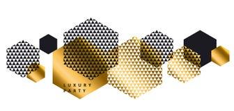 Luxury geometry style landscape composition Stock Photo