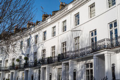 Luxury Georgian Apartments Royalty Free Stock Photos