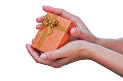 Luxury gift box Stock Photo