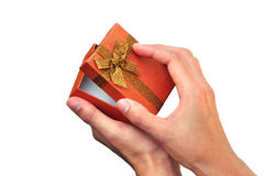 Luxury gift box Royalty Free Stock Photos