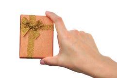 Luxury gift box Royalty Free Stock Image