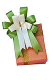 Luxury gift box Royalty Free Stock Images