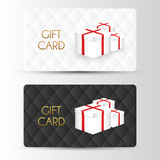 Luxury gift cards template. Vector Stock Photo