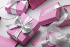 Luxury gifts Royalty Free Stock Image