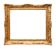 Luxury gilded mirror frame Royalty Free Stock Images