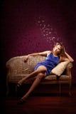 Luxury girl Stock Photo
