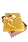 Luxury give box Royalty Free Stock Images