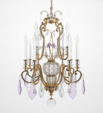 Luxury Glass Chandelier Royalty Free Stock Photos