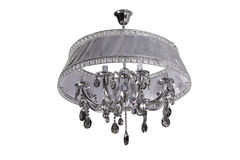 Luxury Glass Chandelier Royalty Free Stock Photo