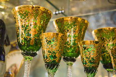 Luxury goblets Stock Photos