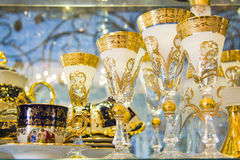 Luxury goblets Royalty Free Stock Photography