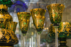 Luxury goblets Royalty Free Stock Images