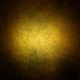 Luxury gold background texture. Abstract gold background. Yellow background. Black vignette border. Sponge design vintage grunge background texture layout stock illustration