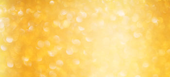 Luxury gold bokeh background. Magic christmas concept Royalty Free Stock Photo