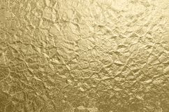 Luxury Gold Foil Wrinkled Texture Holiday Background Abstract Golden Pattern royalty free stock photography