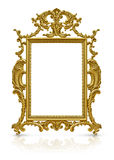 Luxury gold frame Royalty Free Stock Image