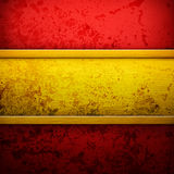 Luxury gold and red background i Stock Image