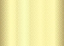 Luxury golden background with ornamental pattern Royalty Free Stock Image