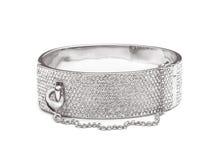 Luxury golden bracelet Royalty Free Stock Image