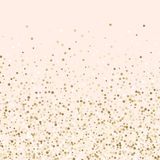 Luxury golden confetti, gold glittering background, blush pink and gold confetti