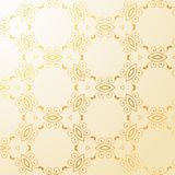 Luxury golden floral decoration background Royalty Free Stock Photography