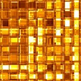 Luxury golden glass mosaic Royalty Free Stock Photography