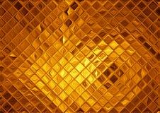 Luxury golden mosaic Stock Photo