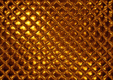Luxury golden mosaic Royalty Free Stock Photography