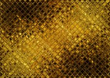 Luxury golden mosaic Royalty Free Stock Photos
