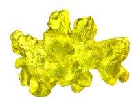 Luxury golden nuggets. Stock Image