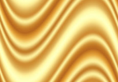 Luxury golden silk fabric for background, Abstract background, V Royalty Free Stock Photos