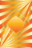 Luxury golden stylish background Stock Images