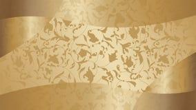 Free Luxury Golden Wallpaper. Vintage Vector Background. Golden Border. Ornament Background Royalty Free Stock Photo - 160614775