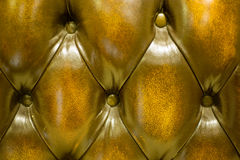 Luxury goldern leather Royalty Free Stock Photo
