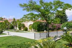Luxury Greek resort Royalty Free Stock Images