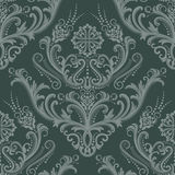 Luxury green floral wallpaper